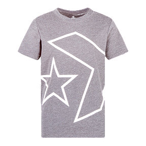 Converse Boys' Titled Star Chevron Tee