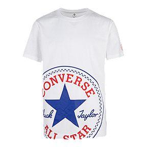 buy popular 7efec 1b66e Converse Boys  Oversize Chuck Patch Tee