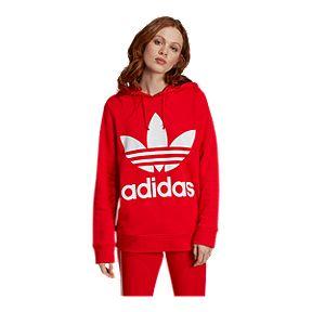 70211a1cc adidas Originals Women's Trefoil Pullover Hoodie