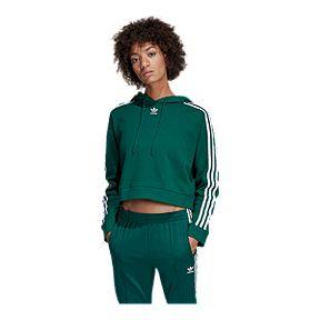 164069cff59 adidas Originals Women's Cropped Pullover Hoodie