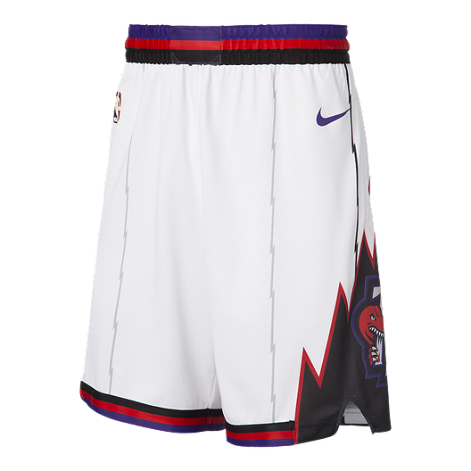 Toronto Raptors Youth adidas Gray On Court Pre Game Shorts
