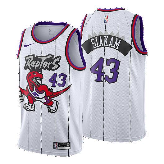on sale d8029 499f8 Toronto Raptors Nike Hardwood Classics Pascal Siakam Jersey ...