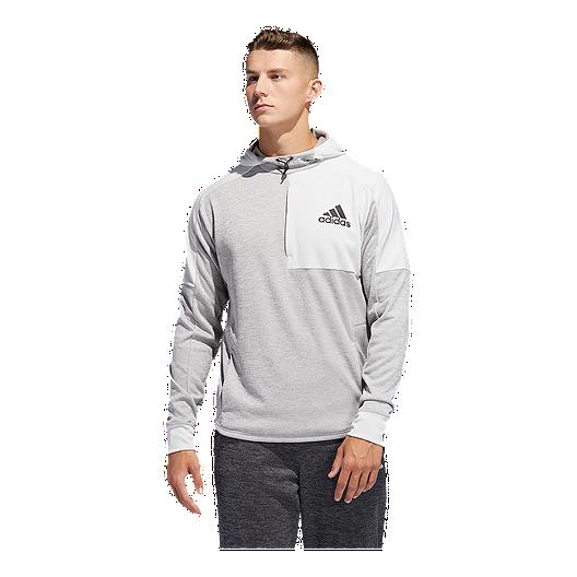 38041996 adidas Men's Team Issue Pullover Hoodie - Grey | Sport Chek