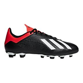 cheap for discount 99625 c6bb9 adidas Men s X 18.4 Firm Ground Cleats - Black Red