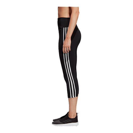 3aa6c9371a509 adidas Women's Designed 2 Move 3 Stripe Tights | Sport Chek