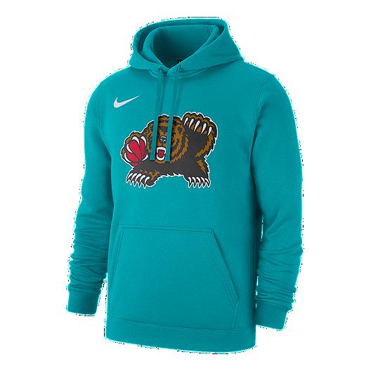 Vancouver Grizzlies Nike Men's Hardwood Classics Logo Hoodie