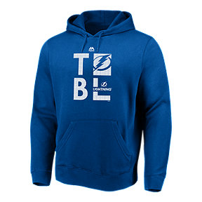 Tampa Bay Lightning Majestic Men's We Play To Win Hoodie