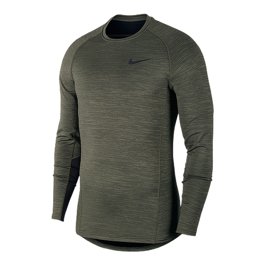 Dinkarville ven Alfombra de pies  Nike Pro Men's Therma Long Sleeve Shirt | Sport Chek