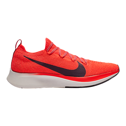 save off 071ce e723c Nike Men s Zoom Fly Flyknit Running Shoes - Red Black - BRIGHT CRIMSON BLACK