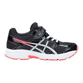 72085b05bd9c3 ASICS Grade School GEL-Contend 4 Shoes - Black Pink