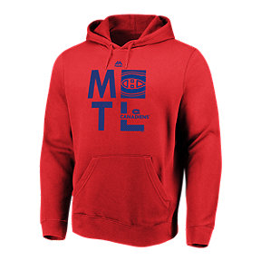 Montreal Canadiens Majestic Men's We Play To Win Hoodie