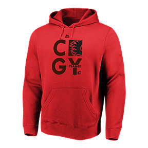 Calgary Flames Majestic Men's We Play To Win Hoodie