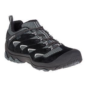 f5fbef8468d4 Merrell Men s Chameleon 7 Limit Waterproof Hiking Shoes - Black