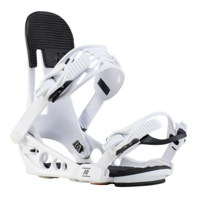 K2 Lineup Snowboard Bindings 2019 Mens Black//White Medium