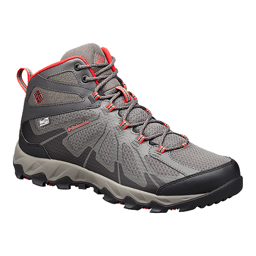 a3e0e3b12f64a Columbia Men's Peakfreak XCRSN II Mid OutDry Hiking Boots - City  Grey/Bright Red | Sport Chek