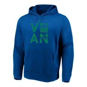 Vancouver Canucks Majestic Men's We Play To Win Hoodie