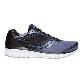 f7a49e7512cb Saucony Men s Everun Breakthru 4 Running Shoes - Grey Black