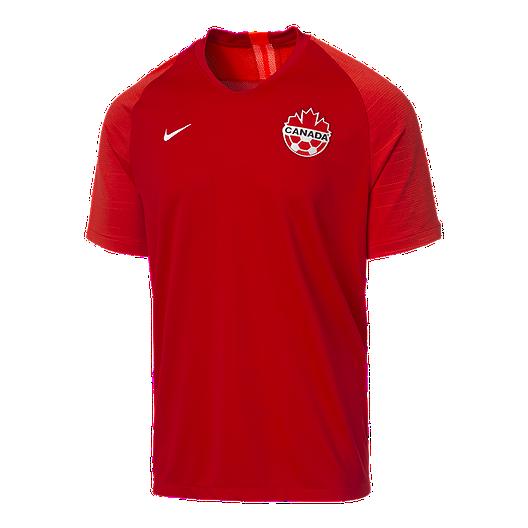 1826361bde2 Canada Soccer Men s Nike 2019 Strike Home Jersey