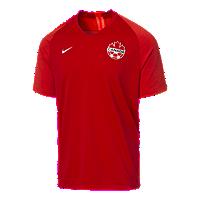 Nike Canada Soccer Men's Nike 2019 Strike Home Jersey