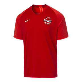 Canada Soccer Men's Nike 2019 Strike Home Jersey