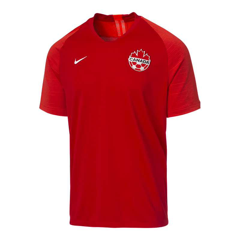 Canada Soccer Men's Nike 2019 Strike Home Jersey   Sport Chek