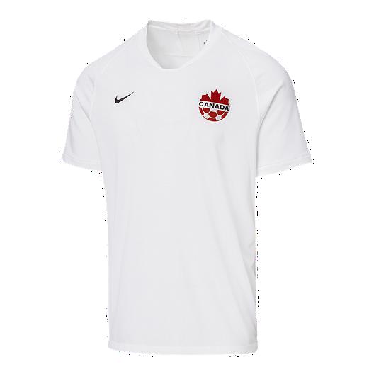 buy popular 6e5fa d5384 Canada Soccer Men's Nike 2019 Strike Away Jersey