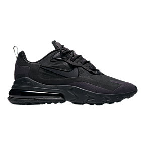 Nike Men's Air Max 270 React Shoes - Black/Grey/White