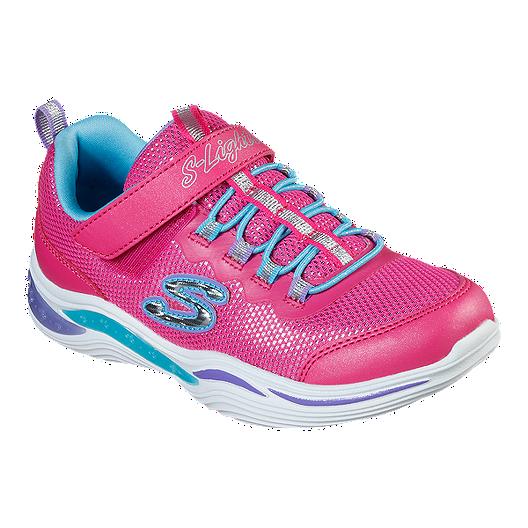 beste Sammlung offizieller Shop Sonderteil Skechers Girls' Power Petals Lights Shoes - Neon/Pink