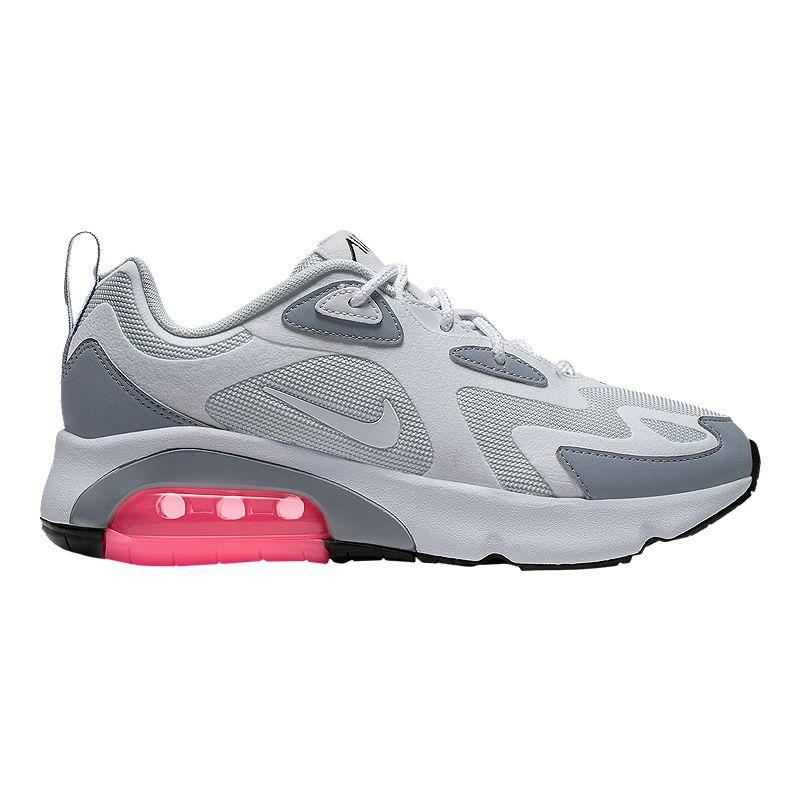 pronóstico Perca informal  Nike Women's Air Max 200 Shoes - Black | Sport Chek