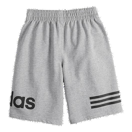 Boys' Core Adidas Football Short Grey rhdtQCxsB