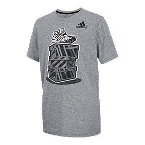 adidas Boys' Street Kicks Graphic Tee