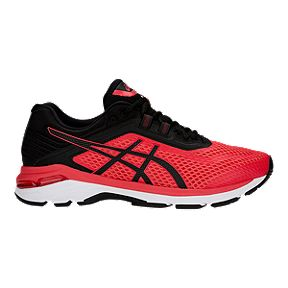 on sale 3e1a4 6ff57 ASICS Men s GT 2000 6 Running Shoes - Red Black