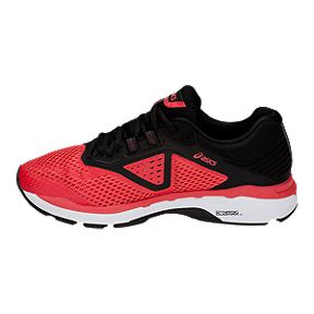 34b5c33eab48 ASICS Men s GT 1000 7 Running Shoes - Red Black