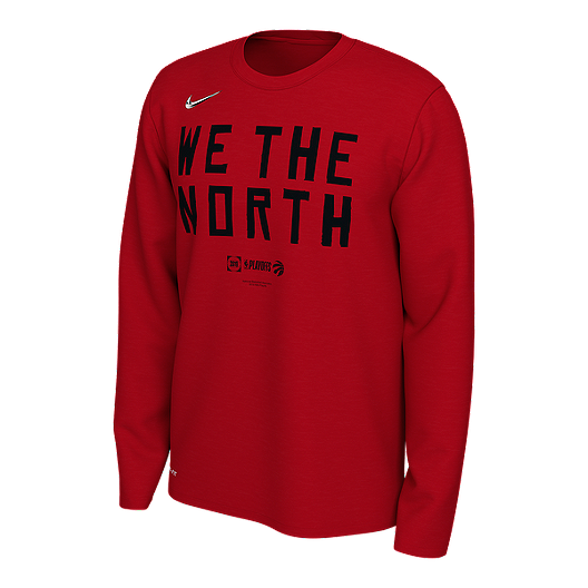 e6587a2bc Toronto Raptors Men's Nike Dri-FIT Long Sleeve Playoff Mantra Tee | Sport  Chek