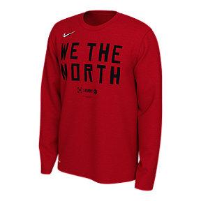 4936af387c3809 Toronto Raptors Men s Nike Dri-FIT Long Sleeve Playoff Mantra Tee