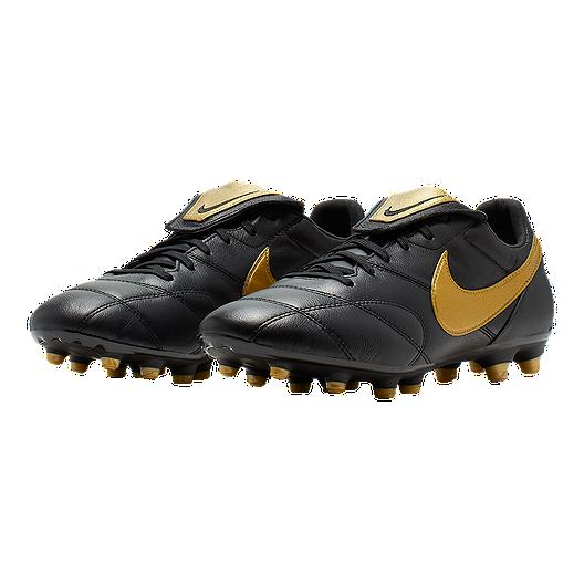 38f8015e2 Nike Unisex The Premier II Firm Ground Cleats - Black Gold. (0). View  Description