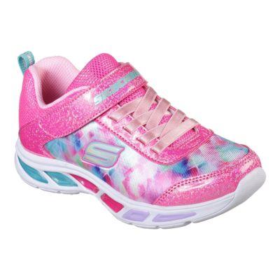 skechers s lights litebeams dance girls' light-up sneakers