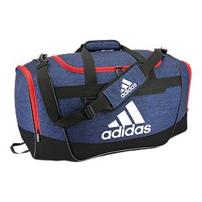 f1687ba75b adidas Defender II Medium Duffel Bag - Navy Red