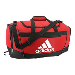 d100cef6d9b64c adidas Defender Small Duffel Bag - Red