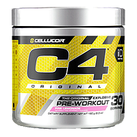 C4 Original Pre-Workout Pink Lemonade 180g Powder 30 Servings