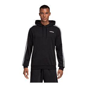 45bd4dea4a77eb adidas Men's Essentials 3 Stripe Pullover Hoodie
