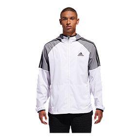 acc84eca6f2 adidas Men's Essentials 3 Stripe Wind Jacket
