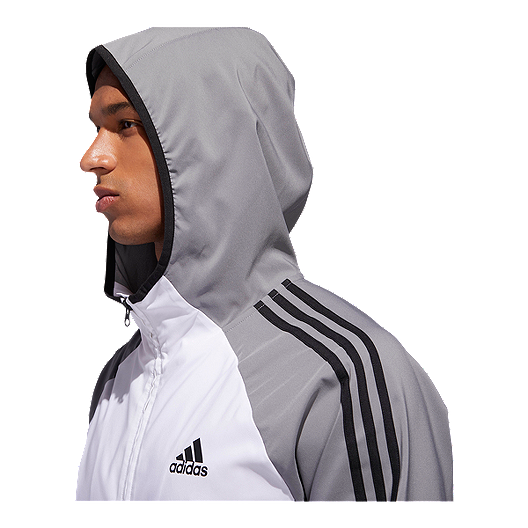 adidas Men's Essentials 3 Stripe Wind Jacket