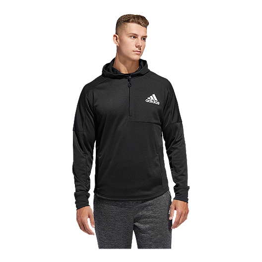 5b56f9ce adidas Men's Team Issue Pullover Hoodie - Black | Sport Chek
