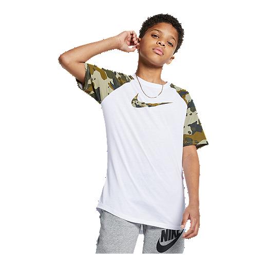 37338b40b Nike Sportswear Boys' Raglan Camo Tee | Sport Chek