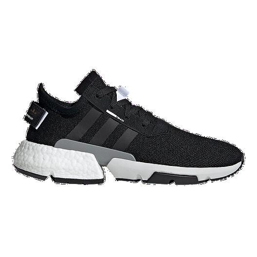 on feet shots of brand new cheaper adidas Men's POD S3.1 Shoes - Core Black/Reflective Silver | Sport ...