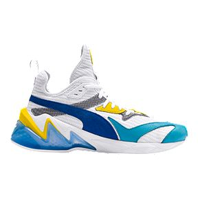 9a9b94793b73e1 PUMA Men s Liquid Cell Origin Shoes - White Blue Yellow