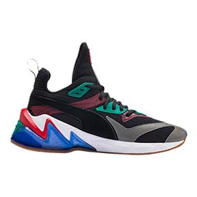 d9a72466bf8bc8 PUMA Men s Liquid Cell Origin Shoes - Black Cadmium Green