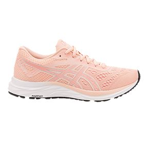 9e097121a ASICS Women's GEL Excite 6 Running Shoes - Pink/Silver