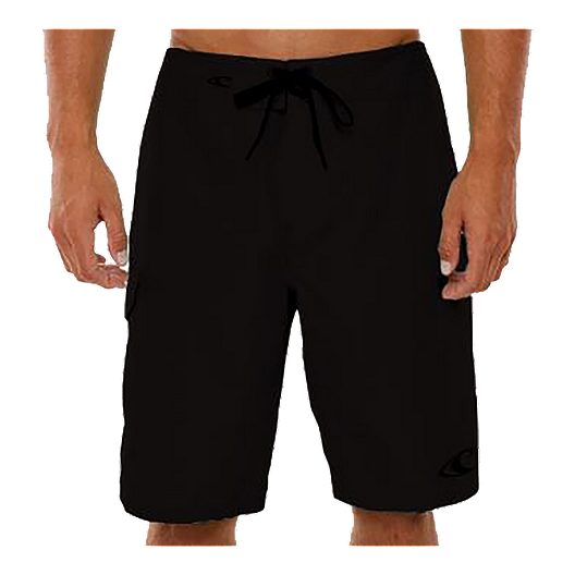 8dcfe769184f O'Neill Men's Santa Cruz Solid Boardshorts - Black
